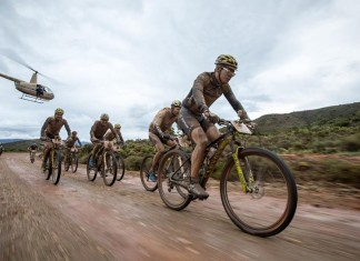 The leaders of stage 2 of the 2014 Absa Cape Epic