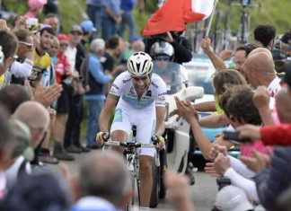 Fabio Aru during the Stage 19 ITT