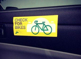 Check for bikes sticker VTA