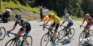 Chris Froome, NAiro Quintana and Tejay van Garderen