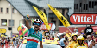 Vincenzo Nibali winning Stage 19 Tour de France