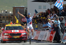 Tour de France Stage 20 winner Thibaut Pinot
