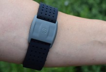 Scosche RHYTHM+ Optical heart rate strap dual Ant+ and Bluetooth Smart