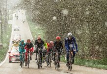 Liege Bastogne Liege 2016 snow covered race
