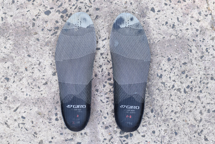 Giro SuperNatural Fit Kit with adjustable arch support