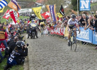 Peter Sagan winning the 2016 Tour of Flanders