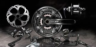 Shimano XT T8000 touring groupset