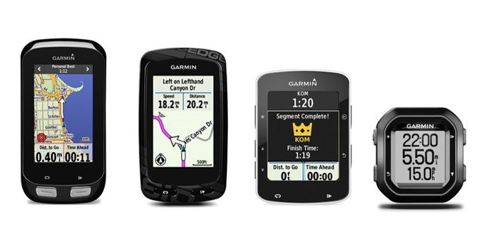 Garmin Edge 1000, Edge 810, Edge 520 and Edge 25