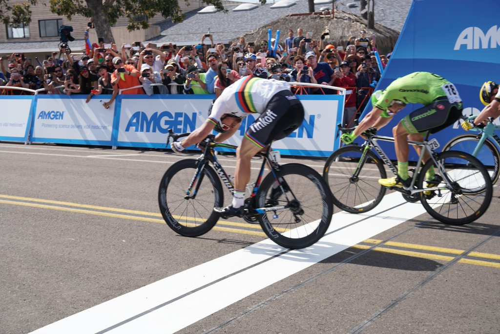 Peter Sagan wins stage 1 of the Amgen Tour of California