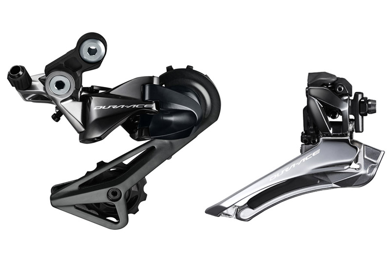 Dura-Ace R9100 front and rear derailleurs