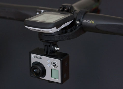 Bar Fly Garmin and GoPro mount