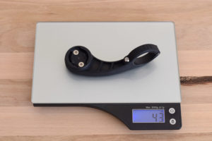 The Bar Fly 4 Road Max weighs 43 grams