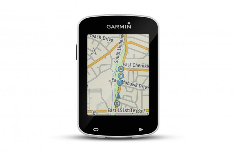 Garmin Edge 820 GroupTrack screen