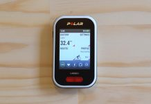 Polar V650 GPS bike computer