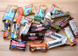 cycling energy bars