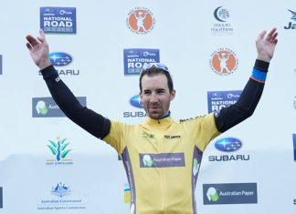 Joe Cooper wins the 2016 Tour of Gippsland
