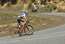 Ben Dyball winning the 2016 Tour of Tasmania