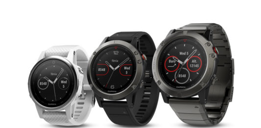 Garmin fēnix 5 series multisport GPS watches
